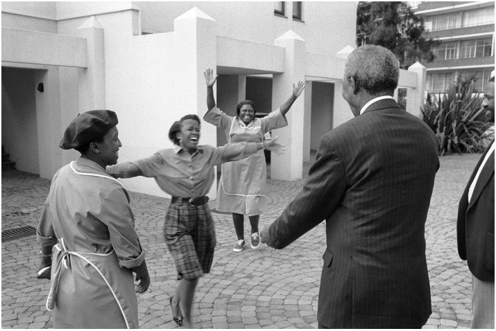 Mandela first encounter