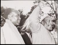 Jomo Kenyatta & Christopher Kiprotech, then member for Kericho East