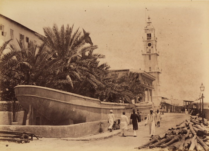 Boat-Cistern, built alongside of the Beit al-Sahel, in Zanzibar Stone Town 