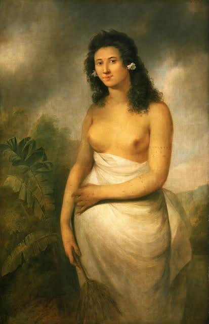 John Webber, Poedua, Daughter of Orio, 1784